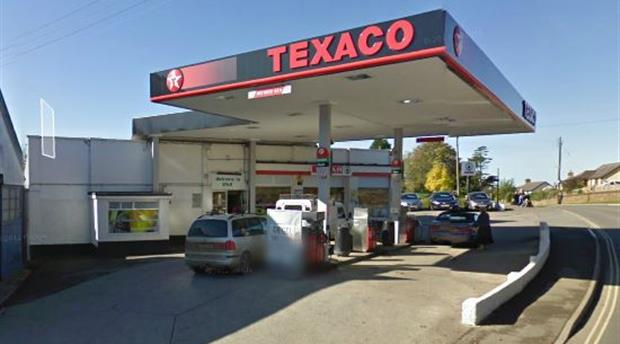 Holsworthy - Texaco Service Station Picture 1