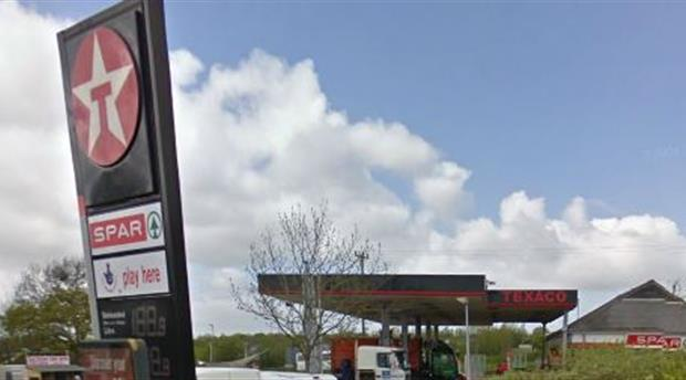 Saltash - Texaco Petrol Station Picture 1