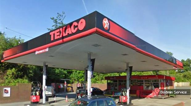 Bodmin Service Station - Texaco Picture 1
