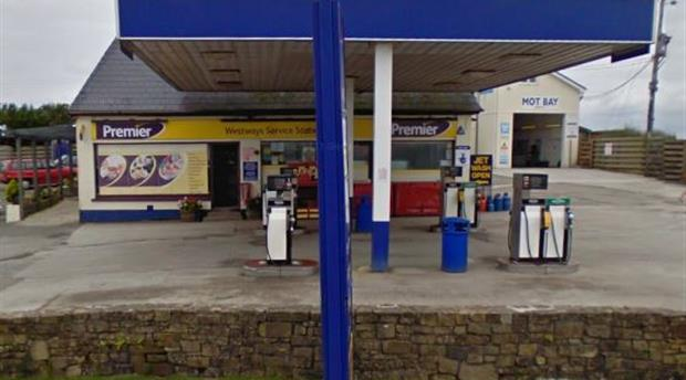 Newquay - Westways Service Station Picture 1