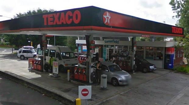 St Austell - Texaco Petrol Station Picture 1
