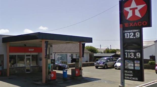 St Buryan Petrol Station - Texaco  Picture 1