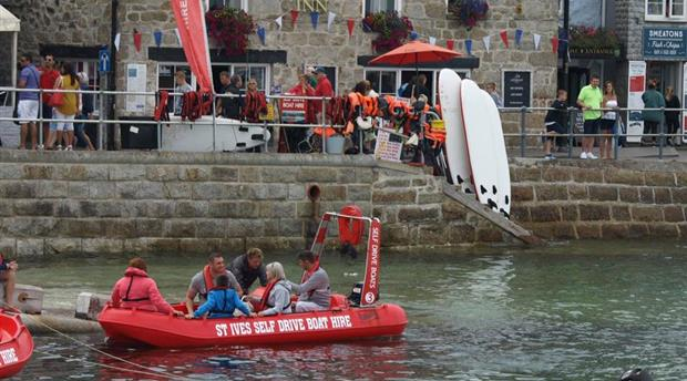 St Ives Self Drive Boats Picture 1