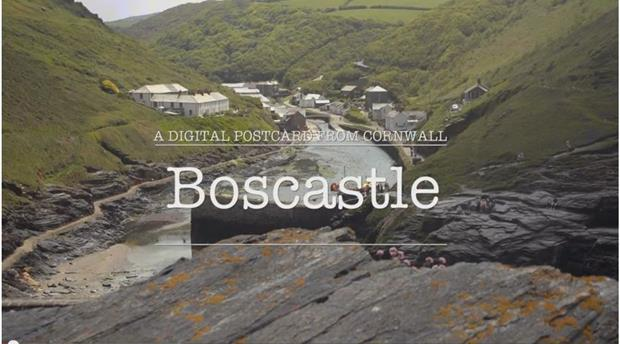 Digital Postcard: Boscastle Picture 1