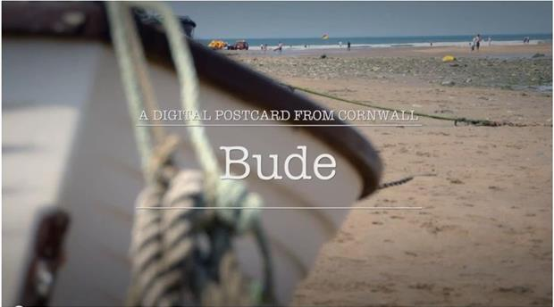 Digital Postcard: Bude Picture 1